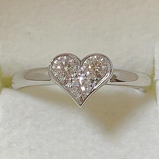 ティファニー(Tiffany & Co.)のティファニー プラチナ ダイヤモンド リング(リング(指輪))