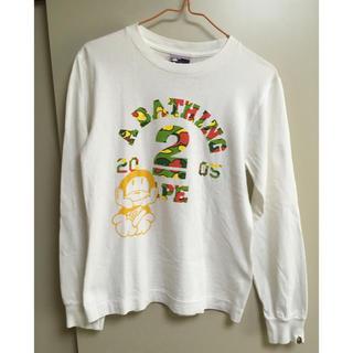 アベイシングエイプ(A BATHING APE)のa bathing ape ロングtシャツ ユニセックス(Tシャツ/カットソー(七分/長袖))