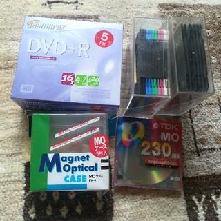 マクセル(maxell)の【新品】フロッピーディスク 16枚 DVD R 4.7GB 5枚パック(PC周辺機器)
