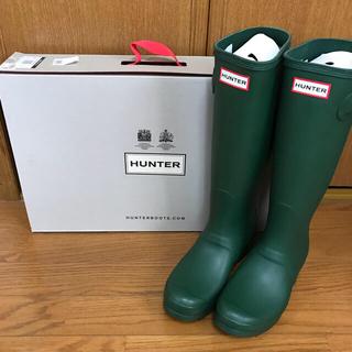 ハンター(HUNTER)の新品未使用*ハンターレインブーツ24.0センチ(レインブーツ/長靴)