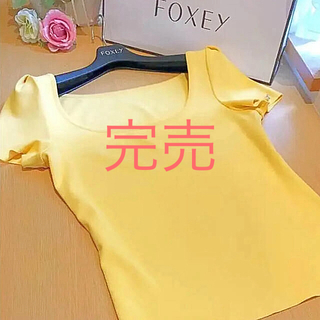 フォクシー(FOXEY)のフォクシー ジェリービーン  42  (カットソー(半袖/袖なし))