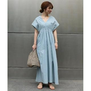 ノーブル(Noble)の新品 19SS ノーブル otona MUSE掲載 MARIHA 夏の光のドレス(ロングワンピース/マキシワンピース)