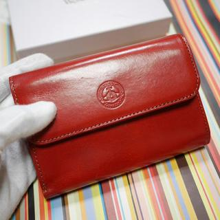 ヴィヴィアンウエストウッド(Vivienne Westwood)の新品ヴィヴィアンウエストウッド シャインオーブ 三つ折り財布 レッド(折り財布)