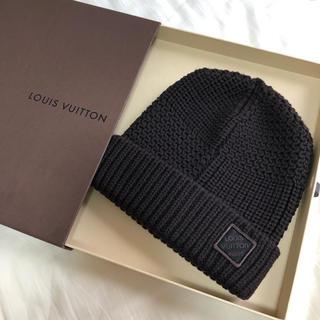 ルイヴィトン(LOUIS VUITTON)のLOUISVUITTON ヴィトン ニット帽(ニット帽/ビーニー)