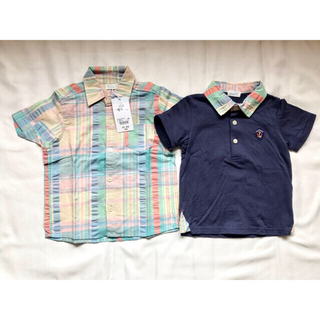 コンビミニ(Combi mini)のCombi mini 半袖ポロシャツセット 100cm (Tシャツ/カットソー)