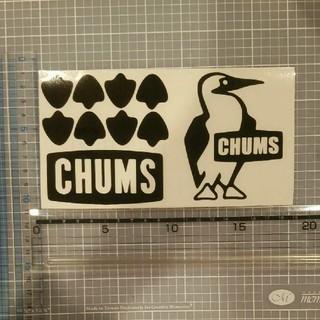 CHUMS - チャムス ステッカー 黒セット