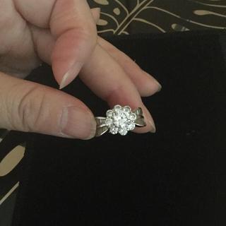 おまとめ専用 / シルバー925  Flower 指輪 &ネックレス 2点セット(リング(指輪))