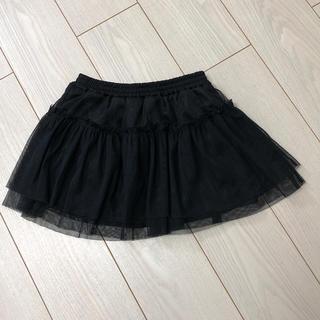 ジーユー(GU)のGU 子供用チュールスカート 120(スカート)