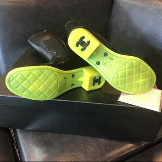 シャネル(CHANEL)のCHANEL レインブーツ ⭐️ 展示品 ⭐️  未使用品 ⭐️37⭐️(レインブーツ/長靴)