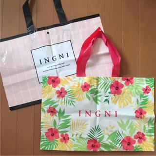 イング(INGNI)のINGNI ショップ袋(ショップ袋)