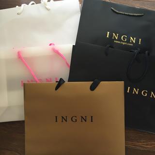 イング(INGNI)の【イング】ショッパーセット(ショップ袋)