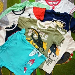 ベルメゾン(ベルメゾン)の120.130 半袖Tシャツ8枚セット(Tシャツ/カットソー)