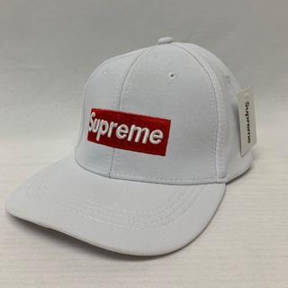 シュプリーム(Supreme)のsupreme キャップ 新品 ホワイト(キャップ)