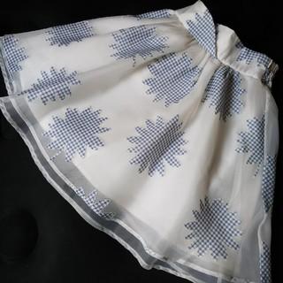 リズリサ(LIZ LISA)のLIZLISA シフォンスカート(ひざ丈スカート)