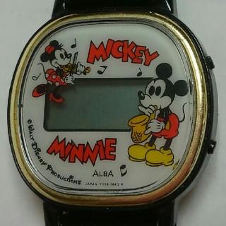 アルバ(ALBA)のアンティークミッキー&ミニー腕時計(腕時計)