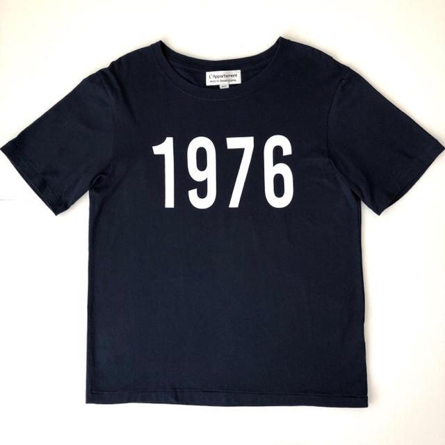 L'Appartement DEUXIEME CLASSE(アパルトモンドゥーズィエムクラス)のアパルトモン アメリカーナ AMERICANA 1976 Tシャツ レディースのトップス(Tシャツ(半袖/袖なし))の商品写真