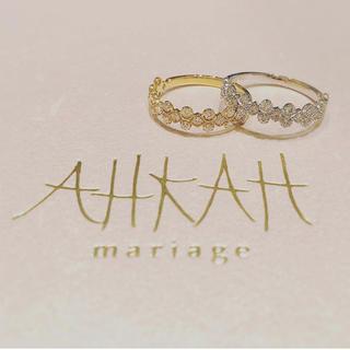 アーカー(AHKAH)のahkah フローレントリング 3号(リング(指輪))