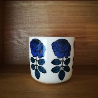 マリメッコ(marimekko)のマリメッコ ラテマグ 濃いブルー (グラス/カップ)