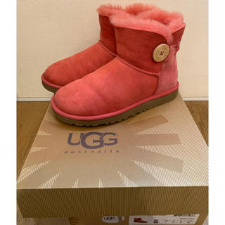 アグ(UGG)のUGG mini Bailey Button(ブーツ)