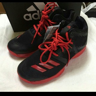 adidas - 新品adidasアディダスバッシュSPG K 24.5cm 黒赤