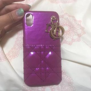 ディオール(Dior)の新品未使用!!iPhoneXsカバー(iPhoneケース)
