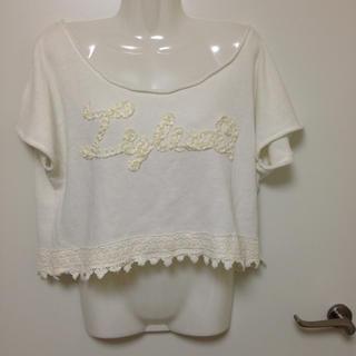 リズリサ(LIZ LISA)のLiz Lisa ニットトップス(Tシャツ(半袖/袖なし))