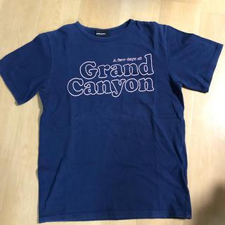グランドキャニオン(GRAND CANYON)のグランドキャニオン  初期 Tシャツ  紺×ピンク  (Tシャツ/カットソー(半袖/袖なし))
