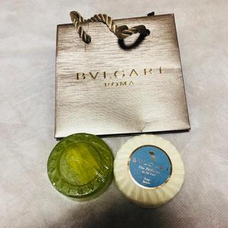 ブルガリ アメニティ 香水 石鹸 ソープ ペーパーバッグ