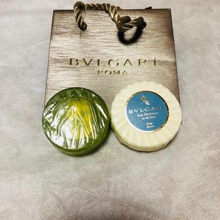 ブルガリ(BVLGARI)のブルガリ 香り付きソープ  石鹸 ペーパーバッグ(ボディソープ / 石鹸)