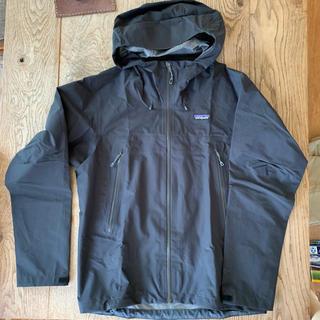 パタゴニア(patagonia)の[程度上]パタゴニア メンズ・クラウド・リッジ・ジャケット サイズM ブラック(マウンテンパーカー)