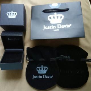 ジャスティンデイビス(Justin Davis)の美品 ジャスティンデイビス 空箱、ケース、袋(ショップ袋)