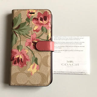 2b96d9243d コーチ(COACH)の新品 未使用 COACH コーチ iPhone Xr 手帳型 ケース ピンク