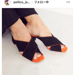 ペリーコ(PELLICO)のペリーコ オープントゥ パンプス PELLICO(ハイヒール/パンプス)