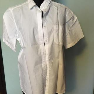 ジーユー(GU)の美品 gu レディースシャツ(シャツ/ブラウス(半袖/袖なし))