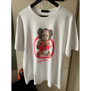 メディコムトイ(MEDICOM TOY)のoriginal fake オリジナルフェイク kaws fragment (Tシャツ/カットソー(半袖/袖なし))