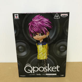 バンプレスト(BANPRESTO)のQposket hide フィギュア メタリックカラー(ミュージシャン)