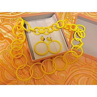 ミュウミュウ(miumiu)のミュウミュウ イヤリング ネックレス セット(イヤリング)
