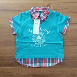 ベルメゾン(ベルメゾン)の*未使用* 90㎝ ベルメゾン 半袖 Tシャツ(Tシャツ/カットソー)