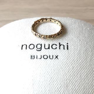 ドゥーズィエムクラス(DEUXIEME CLASSE)のnoguchiブラウンダイヤ エタニティリング (リング(指輪))
