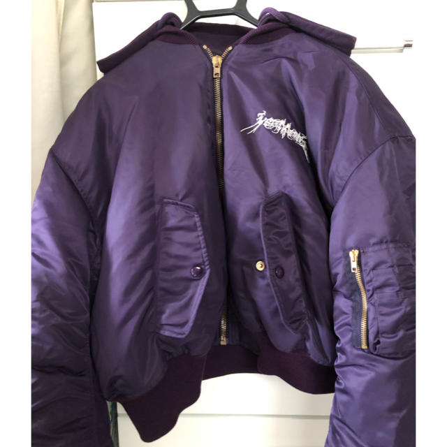 Balenciaga(バレンシアガ)のVETEMENTS オーバーサイズボンバージャケット 五芒星 tfd メンズのジャケット/アウター(フライトジャケット)の商品写真