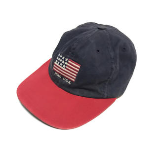 ラルフローレン(Ralph Lauren)のUSA製 90's Ralph Lauren ラルフローレン キャップ 帽子(キャップ)