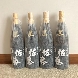 芋焼酎  佐藤・黒麹  1800ml   4本セット(焼酎)