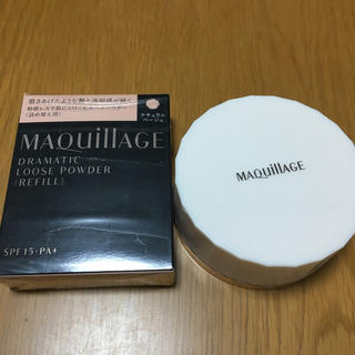 マキアージュ(MAQuillAGE)のマキアージュ ドラマティックルースパウダー フェースパウダー レフィル ケース(フェイスパウダー)