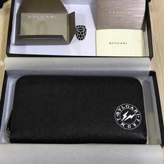 7ea398b62b7a ブルガリ(BVLGARI)のBVLGARI × FRAGMENT 財布 ブルガリ フラグメント ウォレット(長財布)