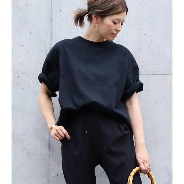 DEUXIEME CLASSE(ドゥーズィエムクラス)のドゥーズィエムクラス CAMBER BIG Tシャツ 新品未使用 レディースのトップス(Tシャツ(半袖/袖なし))の商品写真
