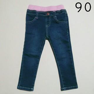 シマムラ(しまむら)の未使用 しまむら 90 デニム ズボン(パンツ/スパッツ)
