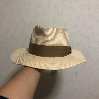 ジーユー(GU)のタグ付き GU 麦わら帽子(麦わら帽子/ストローハット)