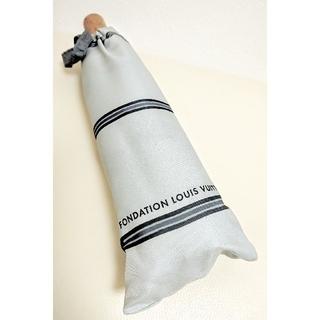 ルイヴィトン(LOUIS VUITTON)の【新品】パリ限定 ルイヴィトン美術館 折りたたみ傘(傘)