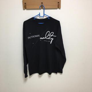 ハレ(HARE)のsyu  homme   Tシャツ    ブラック(Tシャツ/カットソー(七分/長袖))