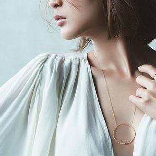 サマンサティアラ(Samantha Tiara)のsamanthatiara 紗栄子コラボ フープネックレス(ネックレス)